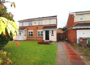 Thumbnail 3 bed semi-detached house for sale in Tutor Bank Drive, Newton-Le-Willows, Merseyside
