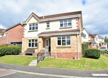 Thumbnail 4 bed detached house for sale in Barn Place, Livingston