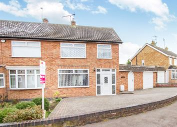 Thumbnail 3 bed semi-detached house for sale in Mayfield Drive, Wigston