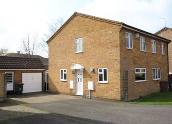 Thumbnail 3 bed property to rent in Weldon Close, Luton