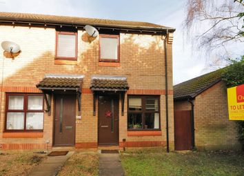 Thumbnail 2 bed end terrace house to rent in Hedgerley Court, Woking