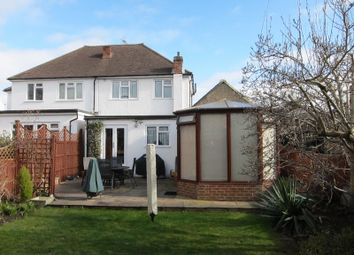 Thumbnail 3 bed semi-detached house for sale in Albert Road, Englefield Green, Egham