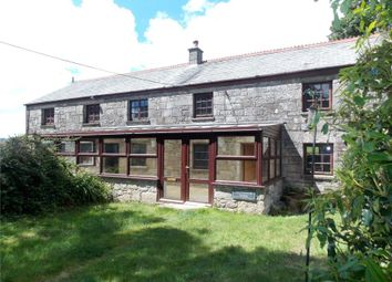 Thumbnail 5 bed equestrian property for sale in Treskilling, Luxulyan, Bodmin