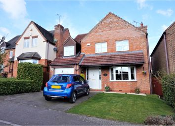 Thumbnail 4 bed detached house for sale in Drovers Way, Leicester