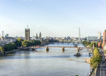 Thumbnail 4 bed flat for sale in Peninsula Heights, 93 Albert Embankment, London