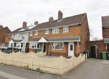 Thumbnail 2 bed town house for sale in Stephenson Avenue, Walsall