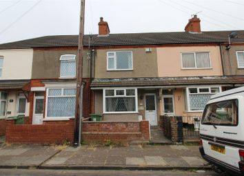 Thumbnail 3 bed terraced house for sale in Hey Street, Cleethorpes