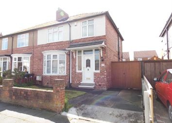 Thumbnail 3 bed semi-detached house to rent in Brinkburn Drive, Darlington