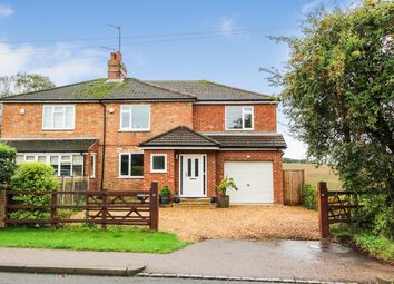 Thumbnail 4 bed semi-detached house for sale in Pavenham Road, Oakley, Bedford