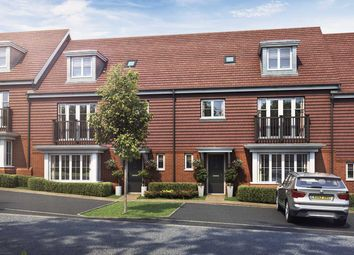 "Thumbnail 3 bed terraced house for sale in ""The Copper"" at Old Bisley Road, Frimley, Surrey, Frimley"