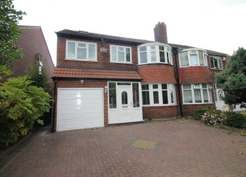 Thumbnail 4 bedroom semi-detached house for sale in Lostock Road, Urmston, Manchester