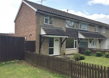 Thumbnail 3 bed end terrace house for sale in Wimbourne Walk, Corby, Northamptonshire