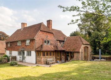Thumbnail 4 bed detached house for sale in Tilford Road, Tilford, Farnham, Surrey