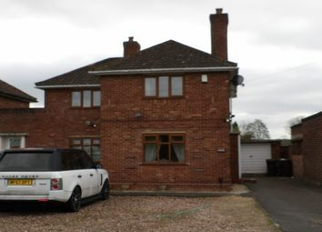 Thumbnail 3 bed link-detached house to rent in Hobs Moat Road, Solihull