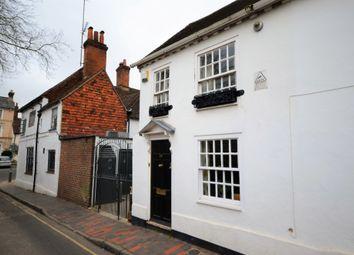 Thumbnail 1 bedroom semi-detached house for sale in Park Row, Farnham, Surrey