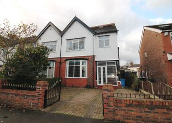 Thumbnail 4 bed semi-detached house for sale in Southgate, Urmston, Manchester