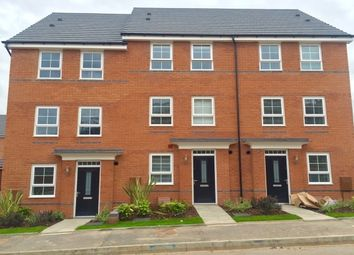 Thumbnail 5 bedroom terraced house to rent in The Moorings, City Wharf, Coventry