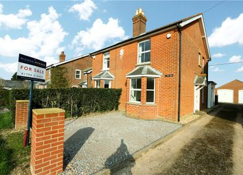 Thumbnail 3 bed semi-detached house for sale in Lockerley Green, Lockerley, Hampshire