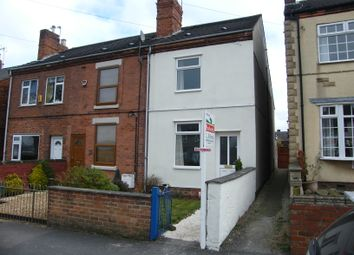 Thumbnail 2 bed end terrace house for sale in Parkhouse Road, Lower Pilsley Chesterfield