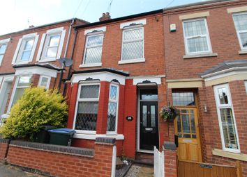 Thumbnail 4 bed terraced house to rent in Kensington Road, Earlsdon, Coventry