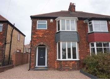 Thumbnail 3 bed semi-detached house for sale in Bramhall Street, Cleethorpes