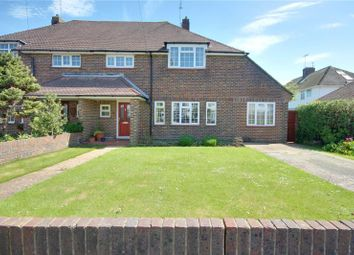 Thumbnail 4 bed semi-detached house for sale in Shaftesbury Avenue, Goring By Sea, Worthing
