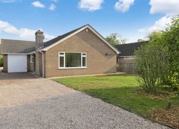 Thumbnail 3 bed detached bungalow for sale in Wesley Close, Sleaford