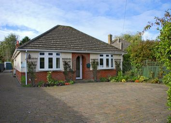 Thumbnail 3 bed detached bungalow for sale in Wootton Road, Tiptoe, Lymington