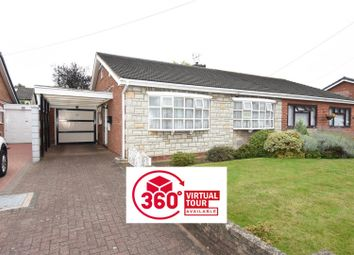 Thumbnail 2 bed semi-detached bungalow for sale in Hilltop Drive, Hodge Hill, Birmingham