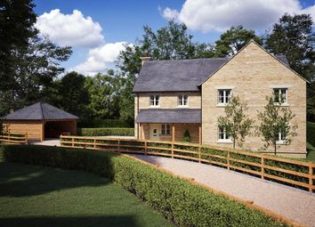 Thumbnail 4 bed detached house for sale in St Joseph's Court, Aston, Oxfordshire