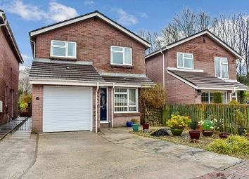 Thumbnail 4 bed detached house for sale in Rectory Close, Sarn, Bridgend .