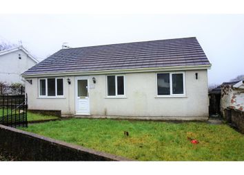 Thumbnail 3 bed detached bungalow for sale in Parish Road, Cwmgwrach