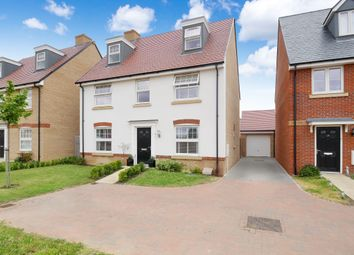 Thumbnail 5 bed detached house for sale in Chamberlain Park, Biggleswade