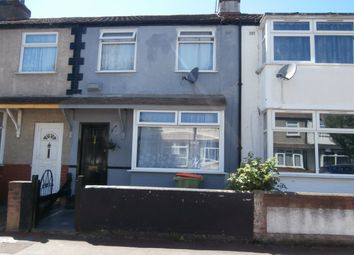 Thumbnail 3 bed terraced house for sale in Walton Road, London