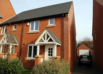 Thumbnail 2 bed end terrace house for sale in Hart Drive, Measham, Swadlincote