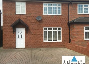 Thumbnail 3 bed semi-detached house to rent in Roydon Close, Loughton
