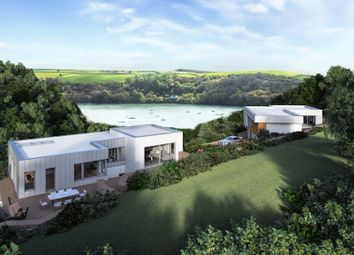 Thumbnail Land for sale in Superb Development Site For Two Houses, Golant, Nr. Fowey