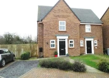 Thumbnail 2 bed semi-detached house for sale in Buttonbush Drive, Stapeley, Nantwich, Cheshire