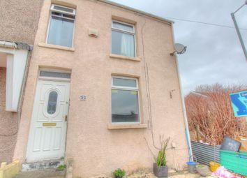 Thumbnail 3 bedroom end terrace house for sale in Dinas Street, Plasmarl, Swansea