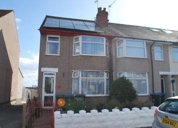 Thumbnail 3 bed end terrace house for sale in Cedars Avenue, Coventry