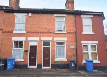 Thumbnail 3 bedroom terraced house to rent in Lynton Street, Derby