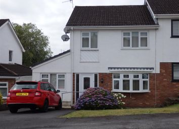 Thumbnail 3 bed semi-detached house for sale in Nant Y Bryn, Dafen, Llanelli