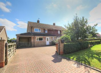 Thumbnail 3 bedroom semi-detached house for sale in Meadow View, Barton Le Willows, York