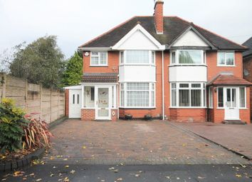 Thumbnail 3 bedroom semi-detached house for sale in Barn Lane, Solihull