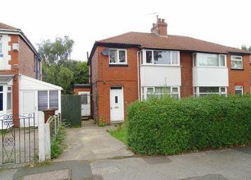 Thumbnail 3 bedroom semi-detached house for sale in Kenilworth Avenue, Whitefield, Whitefield Manchester