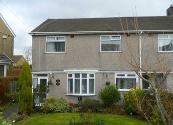 Thumbnail 2 bedroom end terrace house for sale in Pensalem Road, Penlan, Swansea