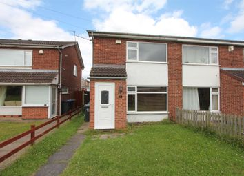 Thumbnail 2 bed semi-detached house for sale in Lochmore Drive, Hinckley