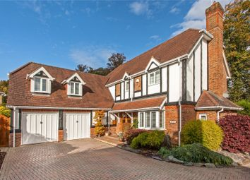 Thumbnail 5 bedroom detached house for sale in Cliddesden Court, Basingstoke, Hampshire