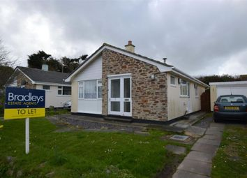 Thumbnail 3 bed detached bungalow to rent in Lawrence Road, St. Agnes, Cornwall