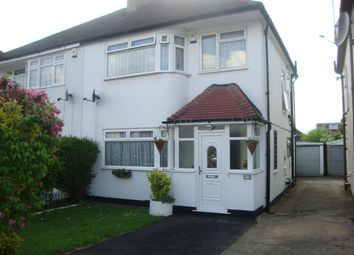 Thumbnail 3 bed semi-detached house for sale in Farrer Road, Kenton, Harrow